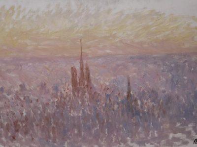 """Besuch der Ausstellung """"Die Impressionisten in der Normandie"""" am 2. Dezember 2017"""